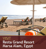 Visit Resta Grand Resort - Marsa Alam, Egypt